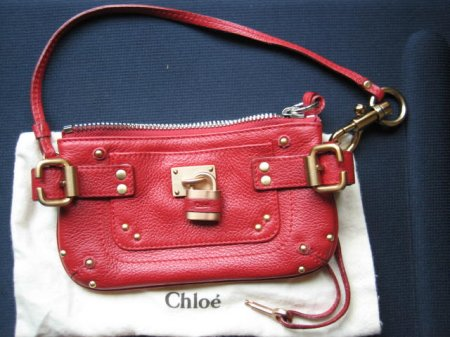 Designer Handbag Bible ? Chloe Paddington Zip Clutch