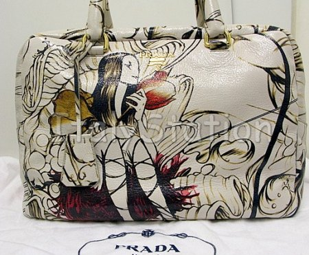 e68b64813d68 Designer Handbag Bible » Authentic Prada Fairies Bag