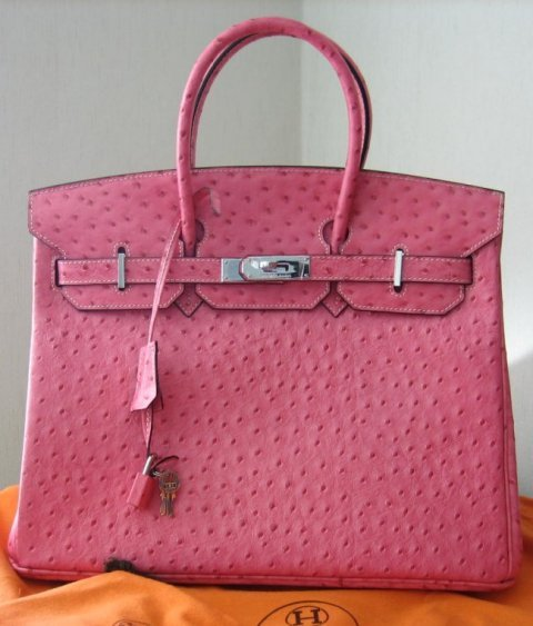 birkin bag ostrich leather