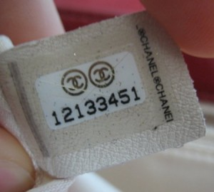 chanel-serial-number
