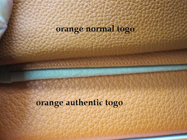 knock off hermes birkin - Designer Handbag Bible ? How to Tell Fake Togo Leather from a ...