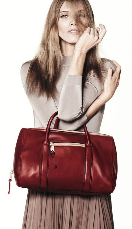 Designer Handbag Bible ? Chloe madeleine leather bowling bag