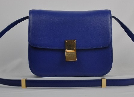 Designer Handbag Bible ? Celine Classic Box Bag \u2013 Blue