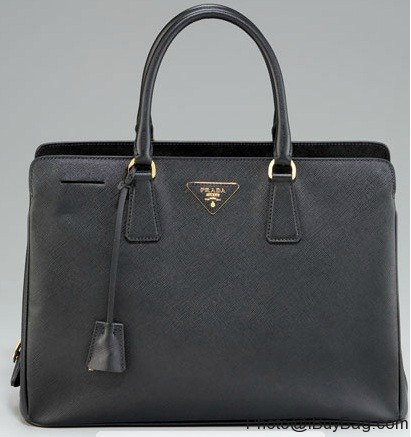 Designer Handbag Bible ? Prada Saffiano Lux Top Handle Tote